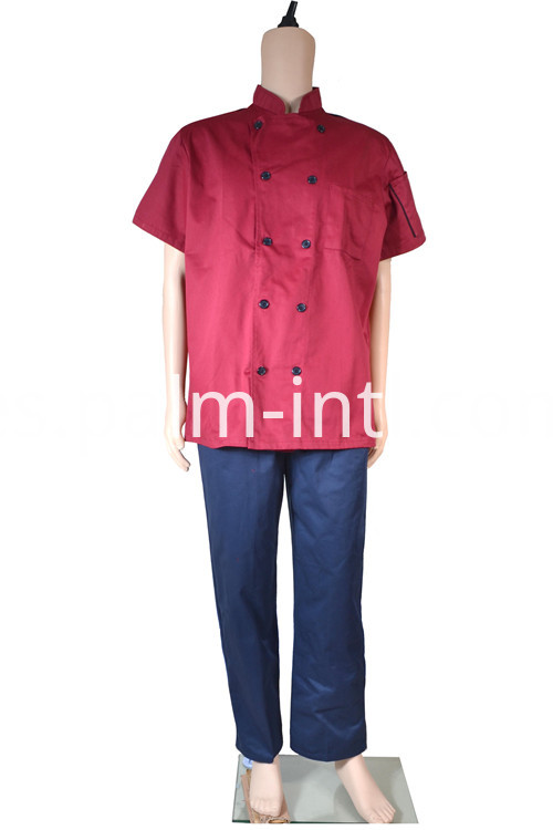 Polyester/Cotton Chef Uniform