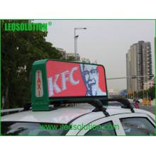 Affichage visuel de taxi supérieur de la couleur P5 Fulll LED