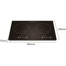 Double Burner Home Appliance induction Heater, Stove, SM-DIC08A