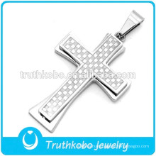 2016 Cheap Price High Quality Stainless Steel Cross Fashion Necklace Jewelry Pendant Male Wholesale
