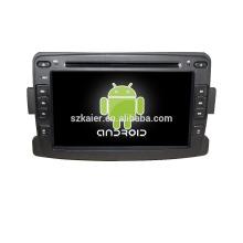 """7 """"lecteur dvd de voiture, usine directement! Quad core, GPS, radio, bluetooth pour renualt duster"""