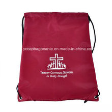 100% Polyestery Qualität 420d Drawsting Backpacksport Tasche