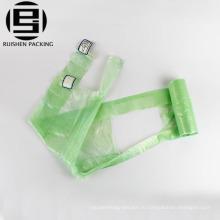 Ароматизированные футболки биоразлагаемой упаковки пластиковые мешки для мусора