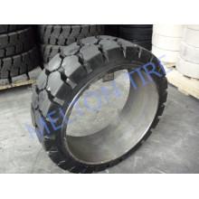 28x12x22 21x7-15 pneu solide lisse