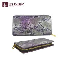 HEC China Factory Fashion Ladies Purse Pu Leather Womens Purse