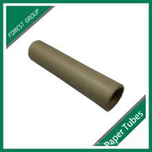 Tubo de papel de color marrón de encargo de bajo precio