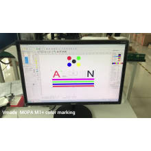 20w High Quality Mopa M1 Fiber Laser Engraving Cutting Machine