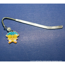 Metal Bookmark Clip Custom Bookmark with Accessories (GZHY-BM-002)