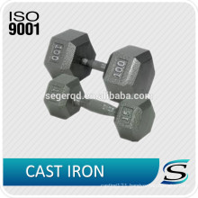 Fitness portable cast iron dumbbell 5 10 15lbs