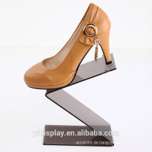 Heißer Verkauf Acryl Schuhe Display Halter