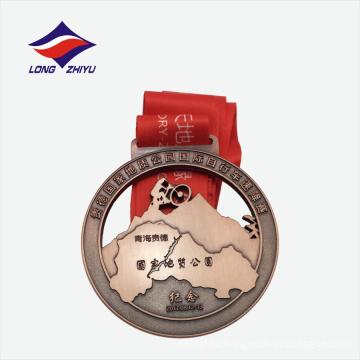 Медаль рекламные 3D горный металл подарок из Китая
