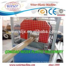 tubería de PVC tubería de plástico extrusión máquina