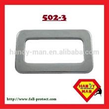 502-3 Equipamentos de proteção de segurança industrial Steel Square Stamped Quick Buckle