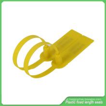 Selo plástico de segurança, selo de comprimento fixo para portas de Trailer, petroleiros, frete aéreo (JY270) a granel