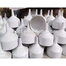 Funil de Buchner cerâmico Porcelanato de cerâmica