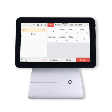 Billing Pos Touchscreen Terminal Machine