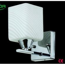 Großverkauf populäre Glas-moderne Kopfbrett-Lesebeleuchtung-weiße LED-Wand-Lampe