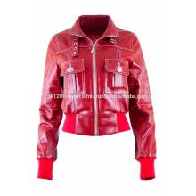 Custom Leather short Jackets For Men / women Winter Jackets / Cheap Winter Jackets