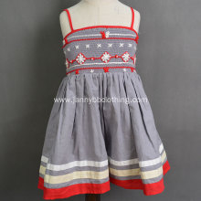 Boutique Children Smocked&Embroidered baby girl dresses