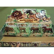 Plástico Brinquedo Animal Selvagem Mundo Natural Brinquedo Animais Brinquedo Animal Plástico