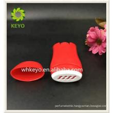 Deodorant container custom made plastic 50g round container deodorant cream twist stick