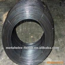Alambre de unión negro de la alta calidad de la fuente de la fabricación
