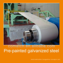 Pre-Painted Galvanized Steel in rool, different colors