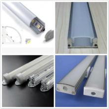 Perfil competitivo da extrusão de alumínio do preço com todos os tipos de tira do diodo emissor de luz