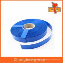 Alta qualidade personalizado plástico azul cor PVC psiquiatra filme manga tubo para tubo, bateria, célula seca embalagem china maker