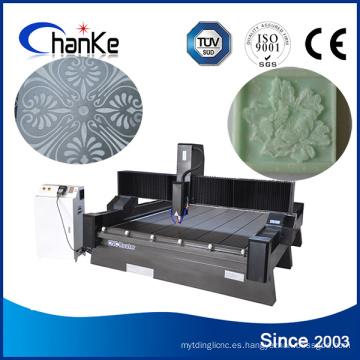 Maquinaria de grabado de mármol CNC para granito de piedra MDF acrílico
