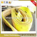 High quality Manufacturer PP Woven Fabric construction lifting tools woven webbing flat sling belt