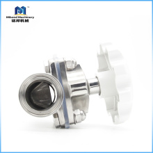 Нержавеющая сталь 304 / 316L BPE Стандартный гигиенический мембранный клапан