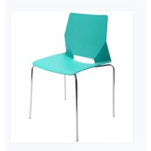 Silla plástica moderna del asiento de polipropileno del precio barato con el marco de acero