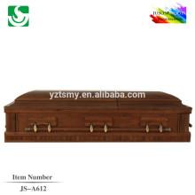 JS-A612 américain cercueil style chêne bois