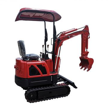 1.6 9hp 1.5t البنزين Nimi ركوب على 3ton Mini 1t 3 Tonne All Home Crawler 3.5ton Small Diesel Excavator