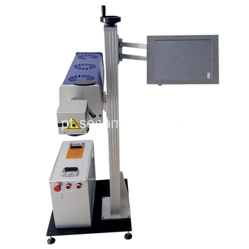 CO2 Laser Marking Machine for Rubber Jade PVC
