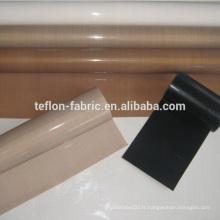 Robe en fibre de verre revêtue par ptfe à haute résistance en gros