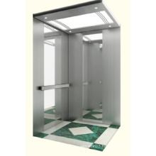 Machine Roomless Home Elevator with Mirror Stainless Steel