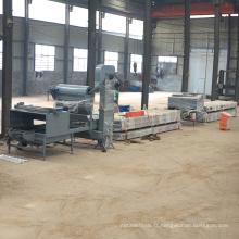 Chine fournisseurs royale en acier toit en métal tuile rollformer rollforming couleur pierre puce enduit tuile vernissée rouleau formant la machine
