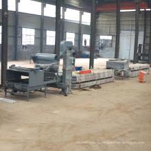 Китай поставщики королевского стальная плитка крыши металла rollformer профилировочных цвета каменным покрынная обломоком застекленный крен плитки формируя машину