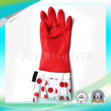 Anti Acid Cleaning Waterproof Work Latex Gloves with Good Quality