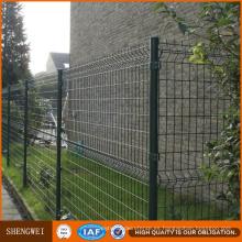 Panel de valla de seguridad con costura revestida en polvo Curvy