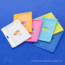2014 heißer verkaufender harter Plastik Identifikation-Kartenhalter