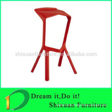 plastic wholesale new fashionable bar stool