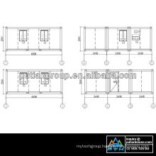 America Container house project