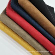 Tecido composto colorido de pele de veado