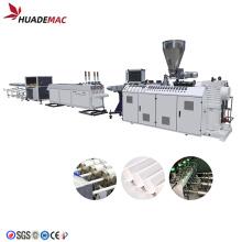 Máquina para fabricar tubos de PVC Extrusora de doble tornillo de plástico