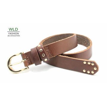 Fashion Basic Genuine Top Leather Belt Lky1171