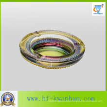 Round Color Personality Glass Ashtray