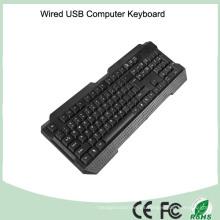 Qwerty teclado USB cableado (KB-1688)